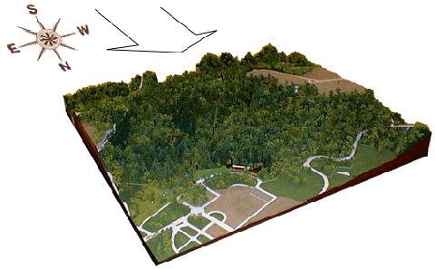 地形立体模型