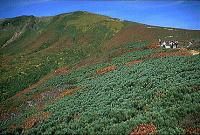 栗駒山山頂(1996.9.28)