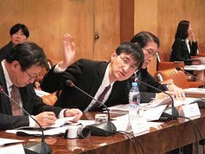Executive Vice President Toshiya Ueki attends the 12th Japan-Russia